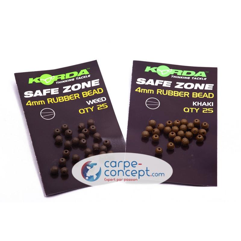 KORDA Safe Zone Rubber Bead 4mm