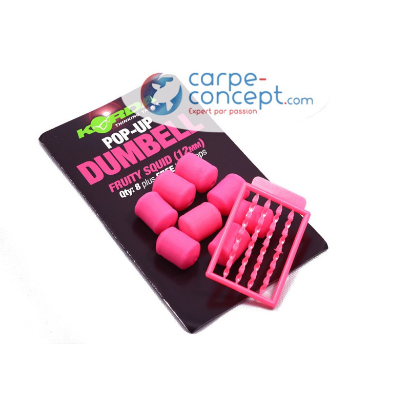 KORDA Pop-up Dumbell Fruity Squid 12mm