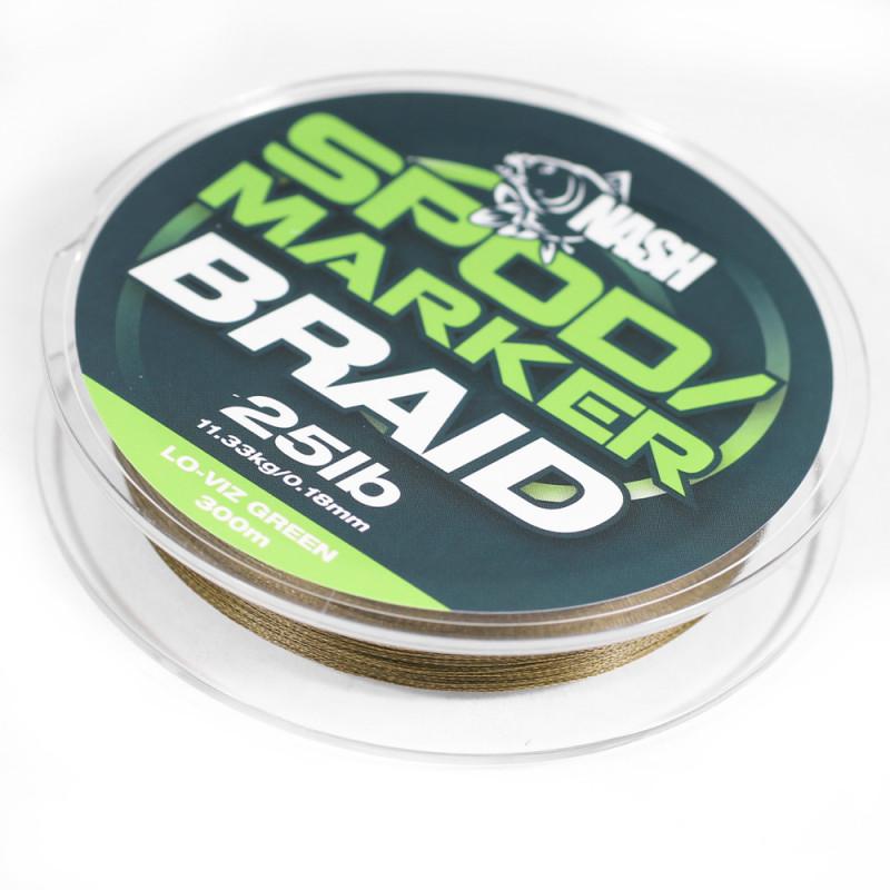 NASH Spod & Marker Braid Green 300m