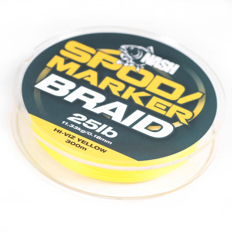 NASH Spod & Marker Braid Yellow 300m
