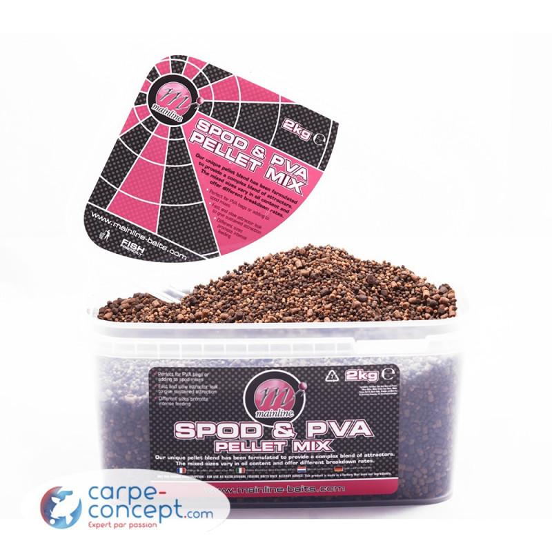 MAINLINE Spod & PVA pellet mix