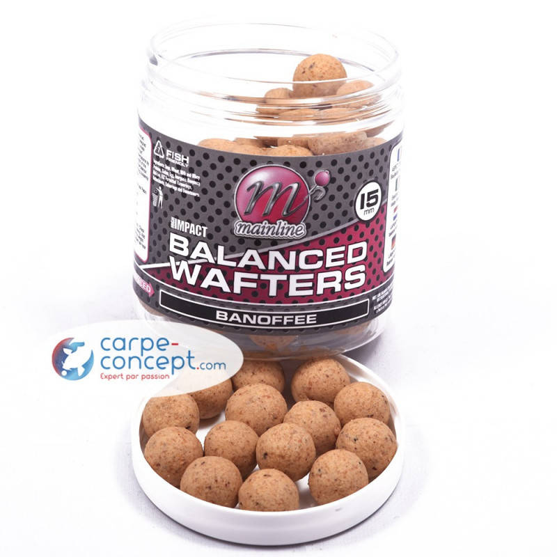 MAINLINE Bouillettes High Impact Balanced Wafters 15 mm Banoffee