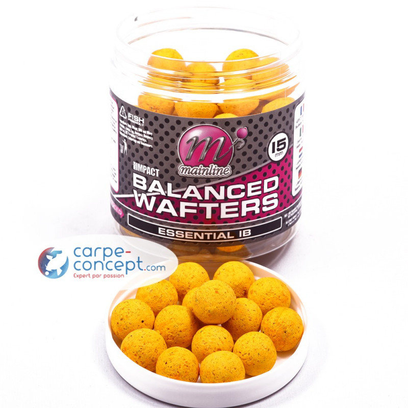 MAINLINE Bouillettes High Impact Balanced Wafters 15 mm Essential I.B.