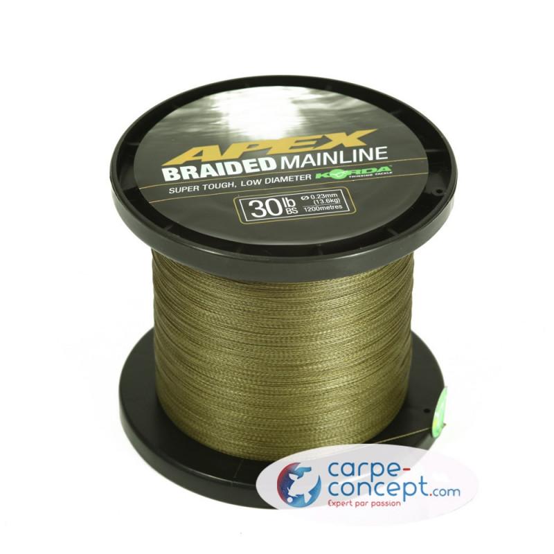 KORDA Tresse Apex Braided Mainline 450m