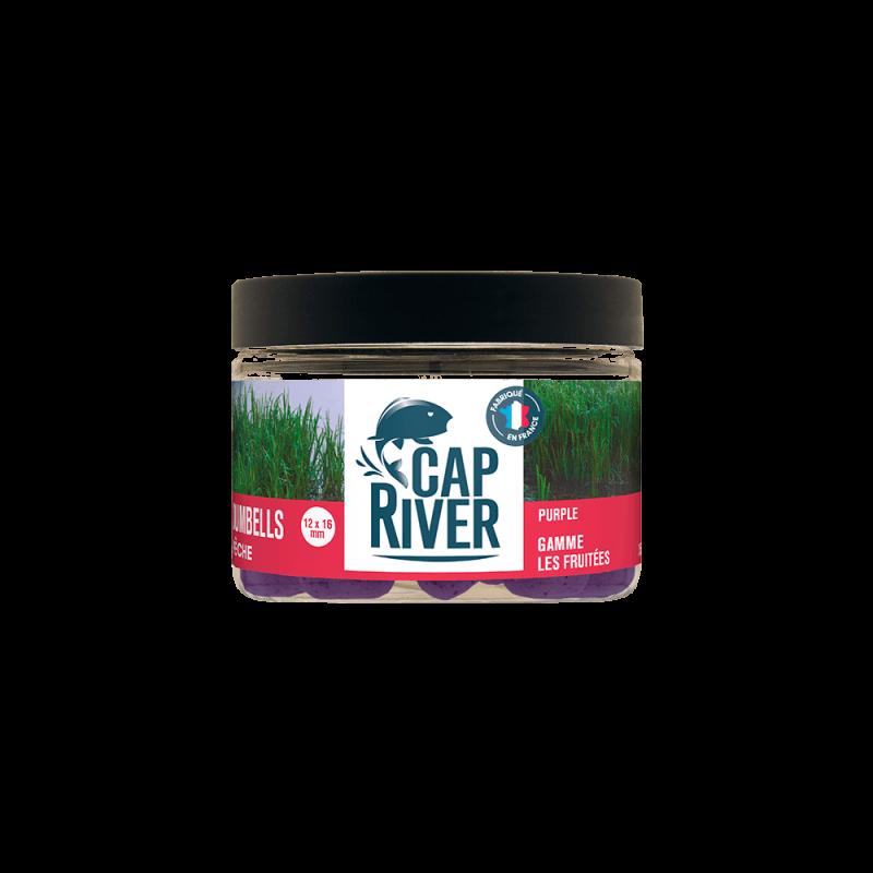 CAP RIVER Dumbell Pêche Poivre 12x16mm