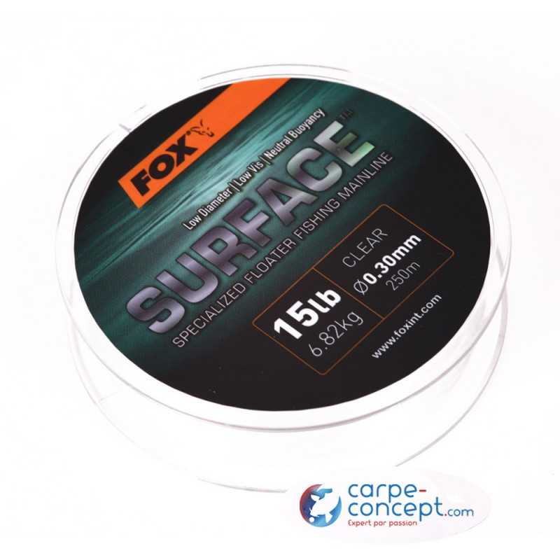 FOX Monofilament Surface Floater Mainline clear 15lb 250m*