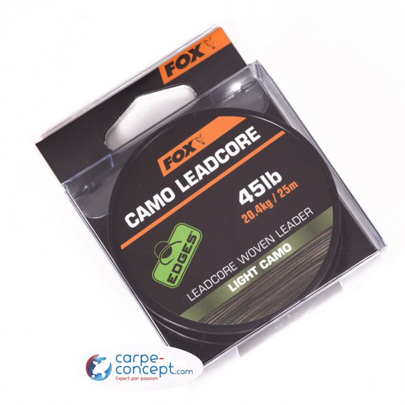 FOX Edges Leadcore Camo 25m 50lb
