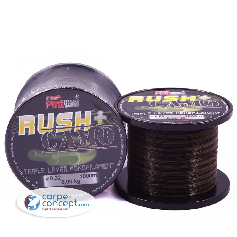 FUN FISHING Nylon Rush+ Camou 40/100