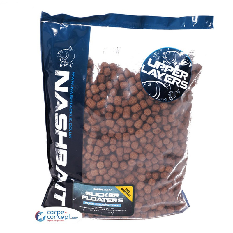 NASH Slicker floaters pure crustacean 1,4 kg