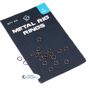 NASH Metal Rig Rings 3 mm 1