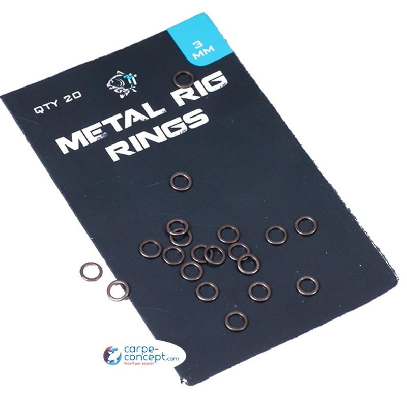 NASH Metal Rig Rings 3 mm