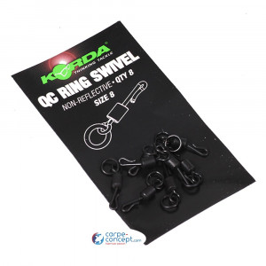KORDA QC Ring Swivel Size 8 1