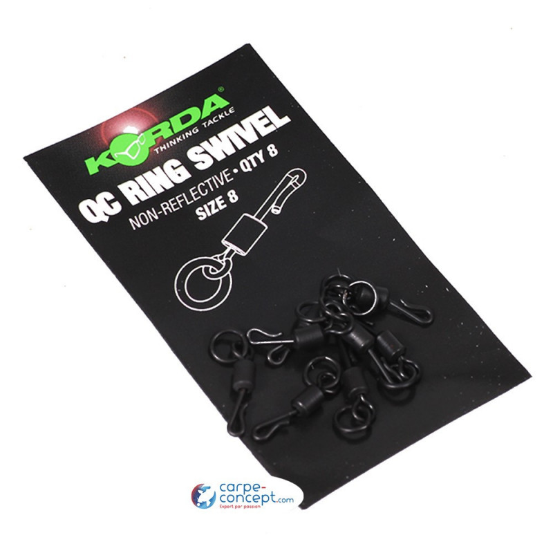 KORDA QC Ring Swivel Size 8