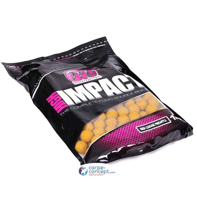 MAINLINE High Impact Boilies High Leakage Pineapple 15mm 1kg