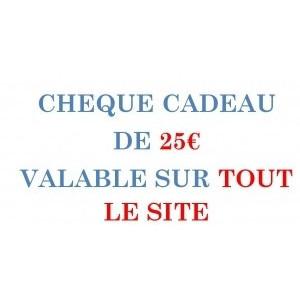 CARPE-CONCEPT CHEQUE CADEAU 25€