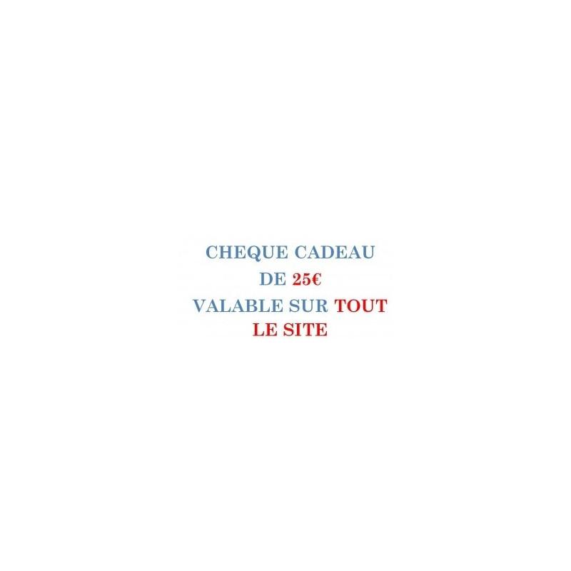 CARPE-CONCEPT CHEQUE CADEAU 25€/