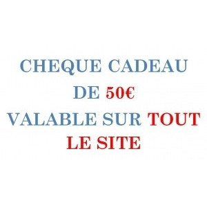 CARPE-CONCEPT CHEQUE CADEAU 50€/ 1