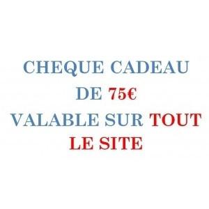 CARPE-CONCEPT CHEQUE CADEAU 75€