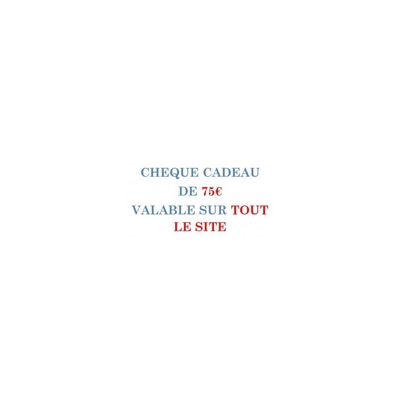 CARPE-CONCEPT CHEQUE CADEAU 75€/