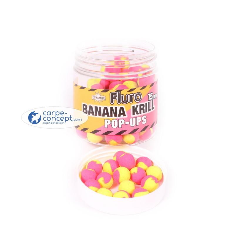 DYNAMITE BAITS Fluro 2 tone krill & banana 15mm
