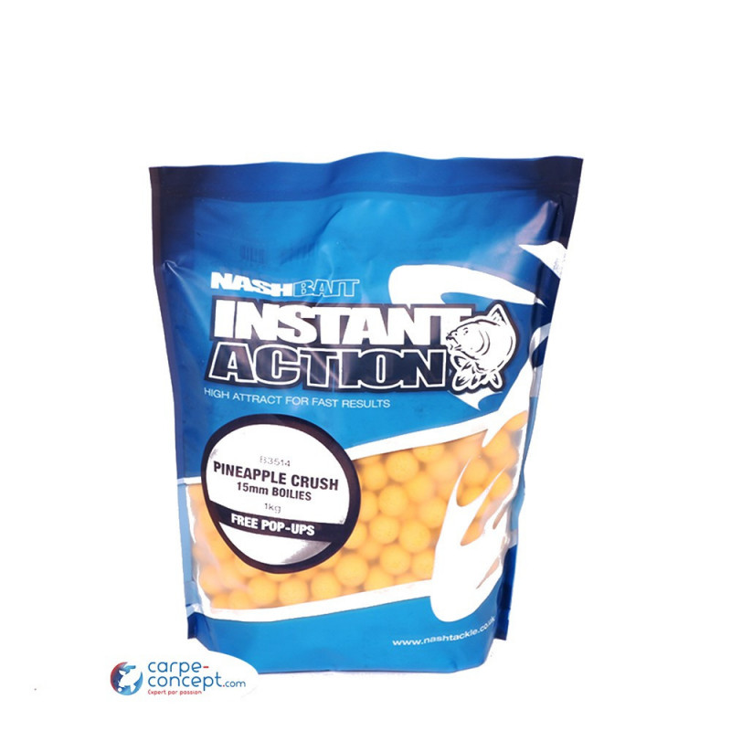 NASH Bouillettes Instant action Pineapple Crush 20mm 2.5kg