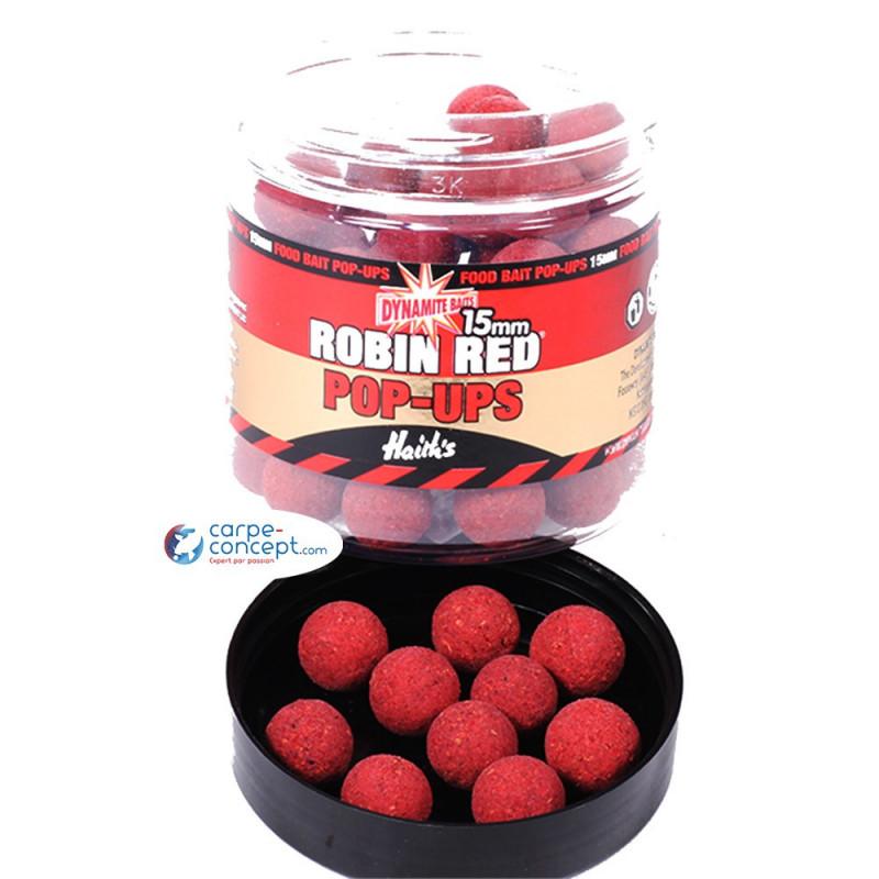 DYNAMITE BAITS Robin Red Food Bait Pop-up 15mm
