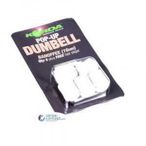 KORDA Pop-Up Dumbell Banoffee 16mm 1