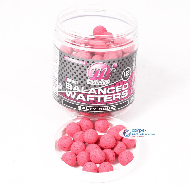 MAINLINE Bouillettes High Impact Wafters 12mm Salty Squid