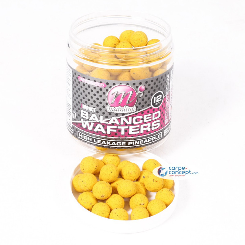 MAINLINE Bouillettes High Impact Wafters 12mm High Leakage Pineapple
