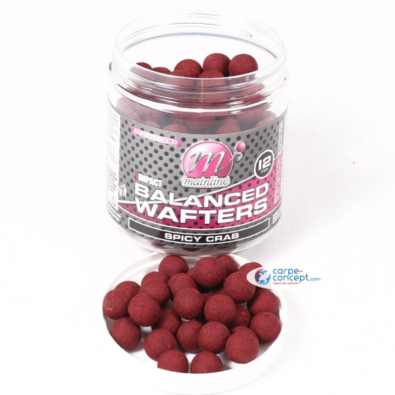 MAINLINE Bouillettes High Impact Wafters 12mm Spicy Crab