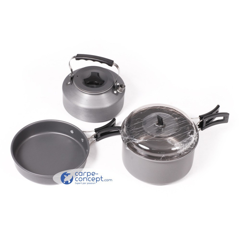 NGT 3 pieces cooking set Alu