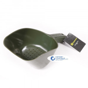 RIDGE MONKEY Bait Spoon Green Percée XL 300 x 130 x 110mm