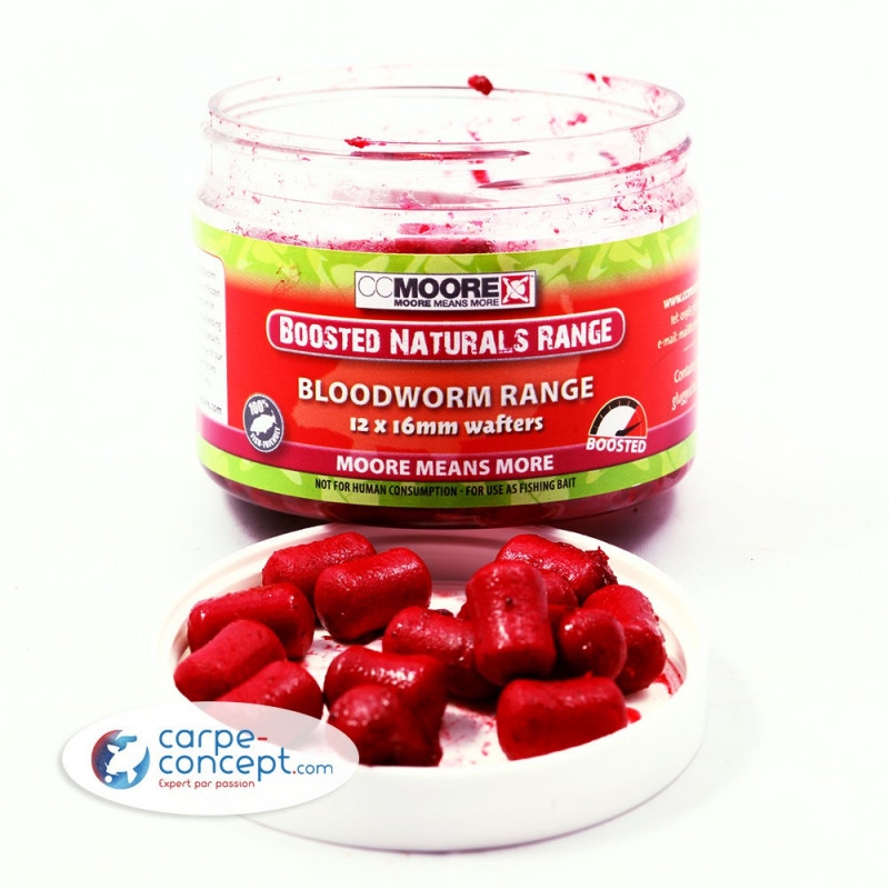 CC MOORE Boosted Bloodworm hookbait 10x14mm