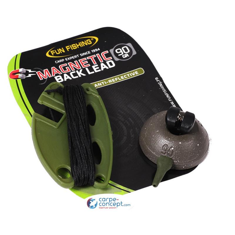FUN FISHING Magnetic Back Lead 90gr Camou par 1