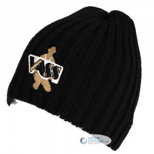 VASS Beanie hat Black