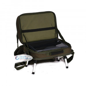 NGT Two tier holdall with bivvy table