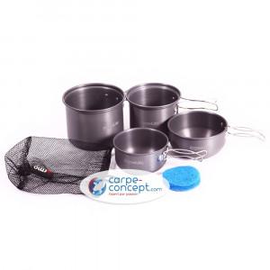 TRAKKER Armolife 3 piéces cookware set 1