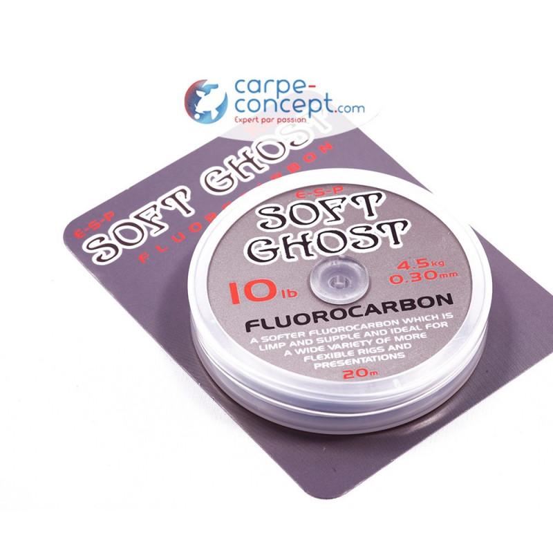 ESP Ghost soft Fluorocarbonne 20m 18lb