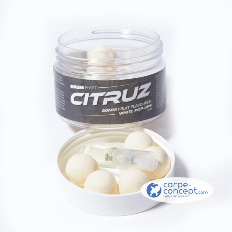NASH Citruz pop up white 20mm