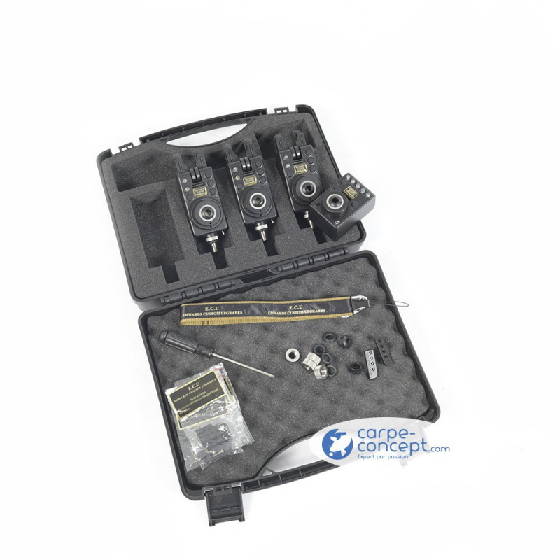 EDWARDS CUSTOM UPGRADES Coffret 3 rod mk1 compacts