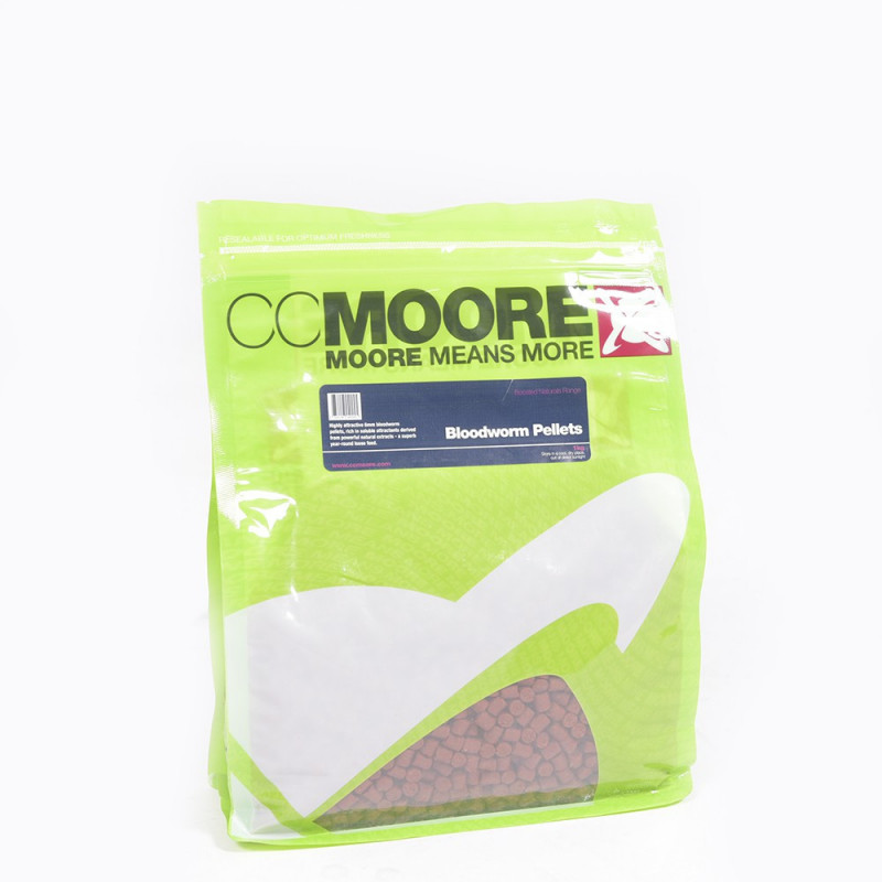 CC MOORE Boosted Bloodworm pellet 6mm 1kg