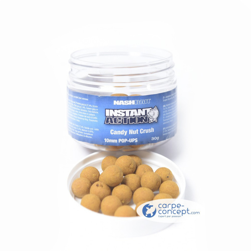 NASH Instant action Candy nut Crush pop up 15mm