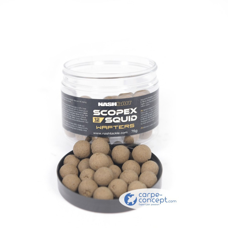 NASH Scopex Squid Wafters 15mm