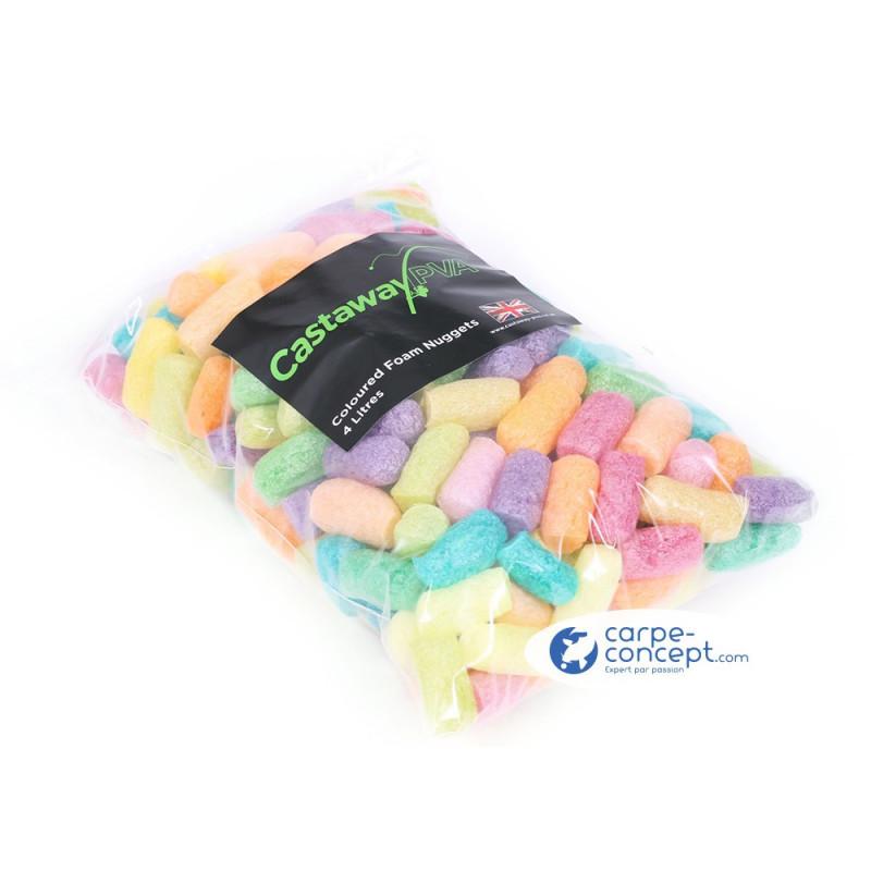 CASTAWAY PVA Nuggets Foam Fluoro