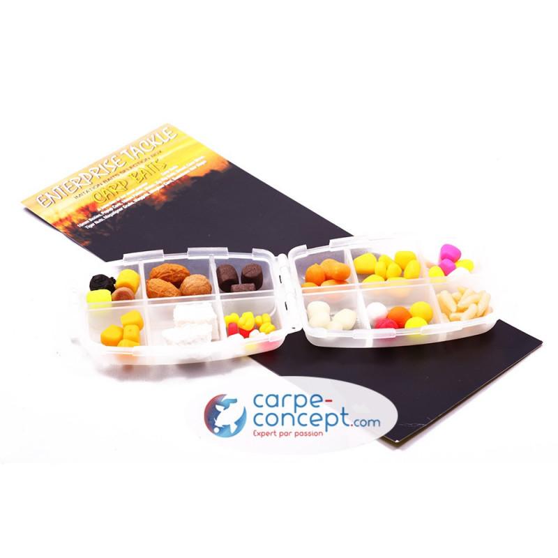 ENTERPRISE TACKLE Boîte d'appâts à carpe Carp Bait Box