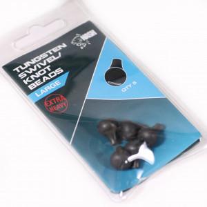 NASH Tungsten Swivel/knot beads Large 1