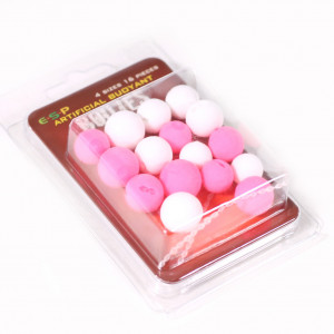 ESP Buoyant Boilies White Pink