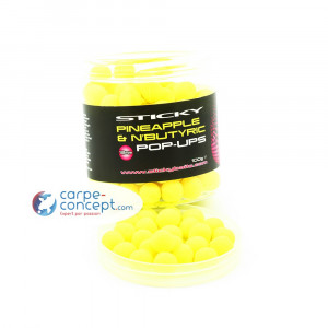 STICKY BAITS Hi-attract pop-up Pineapple N'Buttyric