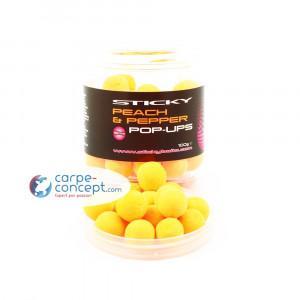 STICKY BAITS Hi-attract pop-up Peach & Pepper 1