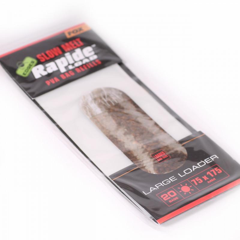 FOX Edges Rapide Solid Pva Bag Slow Melt 85X140mm